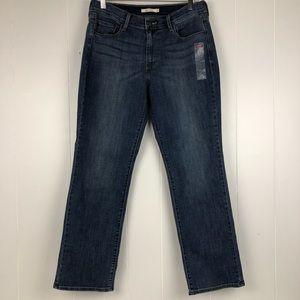 NWOT Levi's 505 Straight Leg Jeans Size 12-W31/L30